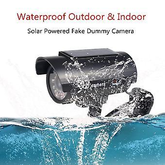 Fake Kamera Aurinkovoima Ulkona Simulaatio Nukke Kamera