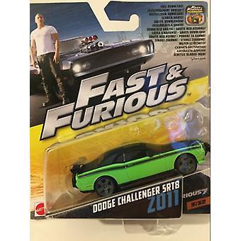 Fast & Furious 7 2011 Dodge Challenger SRT8 1:55 Scale Mattel FCF40 2017