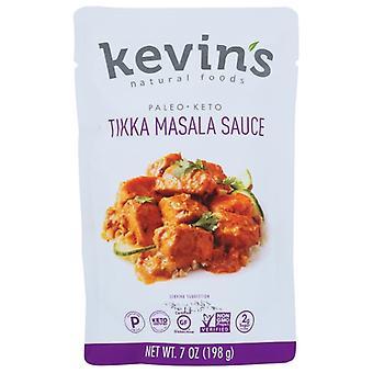 Kevins Natural Foods Sauce Tikka Masala, Case of 12 X 7 Oz