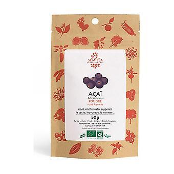 100% ORGANIC fruit freeze-dried acai 50 g of powder