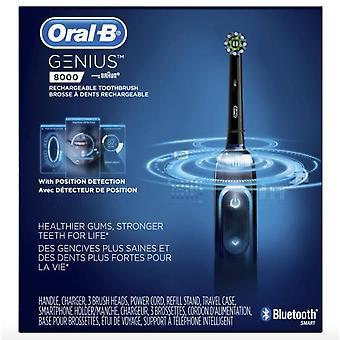 Oral B Genius 8000 Elektrisk Tannbørste, Svart