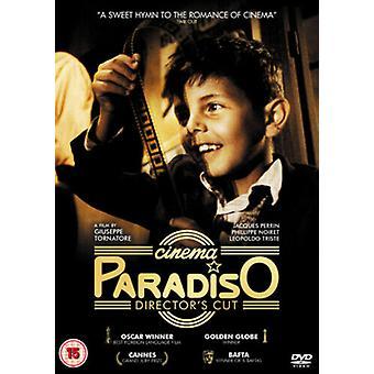 Diretores de Cinema Paradiso Cortam DVD (2001) Philippe Noiret Tornatore (DIR) Região 2