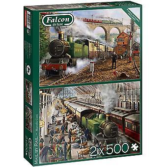 Falcon Deluxe Mail by Rail Pussel (2 x 500 stycken)