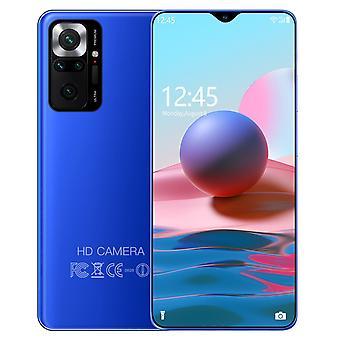 2022 Smartphone 6.7 pouces 4g / 5g 8gb + 128gb 3000mah déverrouillés téléphones mobiles note10 android telefones celulares version mondiale téléphone cellulaire