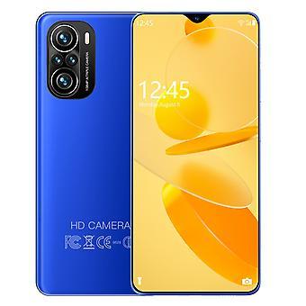 2022 Smartphone android 4g / 5g 8gb + 128gb 6000mah olåst 6.7 tum f3 + mobiltelefoner global version mobiltelefon ny