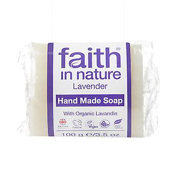 Faith in Nature Lavender Soap Wrapped, 100g
