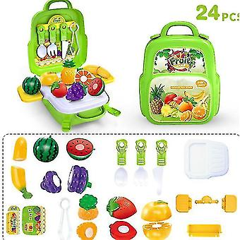 Kids Tool Sets For Boys Age Carpenter Preschool Fixing Tool Kit With Box(Green)