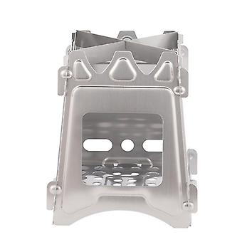 Portable collapsible wood stove Large Stainless Steel