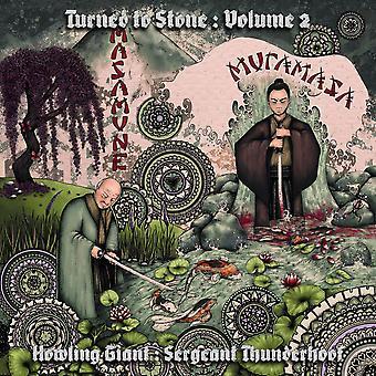 Howling Giant : Sergeant Thunderhoof - Turned To Stone : Volume II: Masamune & Muramasa Vinyl