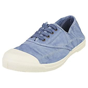 Natural World Old Lavanda Womens Casual Shoes in Blue