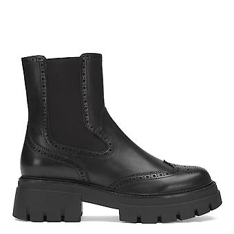 Ash LOVER Boots Black Leather