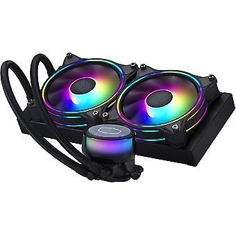 Cooler Master Master Liquid ML240 Illusion ARGB AIO CPU Cooler - 240mm