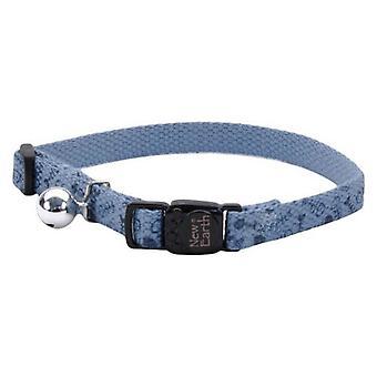 """Coastal Pet New Earth Soy Adjustable Cat Collar - Fish - 8-12""""L x 3/8""""W"""
