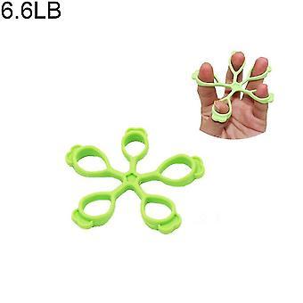 Dispositivo di allenamento con impugnatura con impugnatura in silicone per la forza del palmo e l'allenamento del polso (verde chiaro)