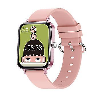 1.69 Inches rotationsknapp smart klocka smartwatch puls cf82 sport armband armband band