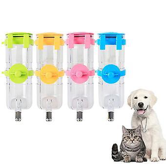 Bouteille d'eau pour animaux de compagnie Chien Cat Distributeur d'eau Buveur Mangeoire Bol Fournitures pour animaux de compagnie