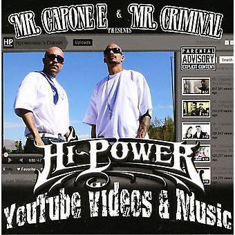 M. M. & de Capone-E Criminal Presents - importation USA vidéos Hipowermusic.com [CD]