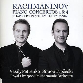 Trpceski/Petrenko - Rachmaninov: Piano Concertos Nos. 1 & 4 [CD] USA import