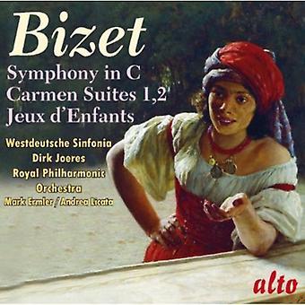 Westdeutsche Sinfonia - Bizet: Symphony in C; Carmen Suites; Jeux D'Enfants [CD] USA import