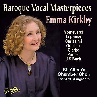 Emma Kirkby - Baroque Vocal Masterpieces [CD] USA import