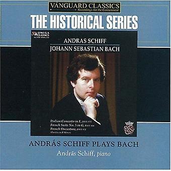 Andras Schiff - Andras Schiff Plays Bach [CD] USA import