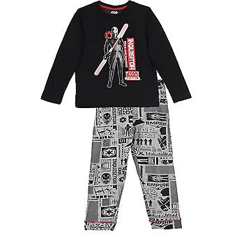 Boys Star Wars Long Sleeve Pyjama \ Set