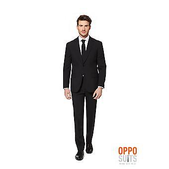 Opposuit Black Knight suit black slimline Premium 3-piece EU SIZES