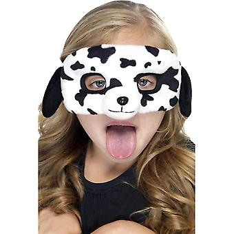 Dog mask children animal mask dog Dalmatian mask eye mask plush children costume