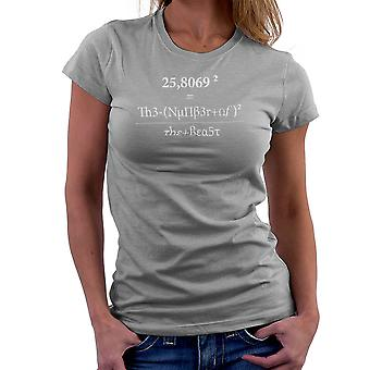 666 The Number Of The Beast Women's T-Shirt