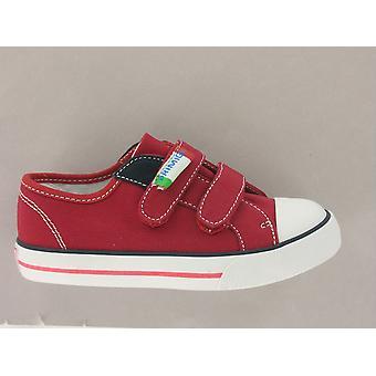 Primigi College Red Canvas Shoe