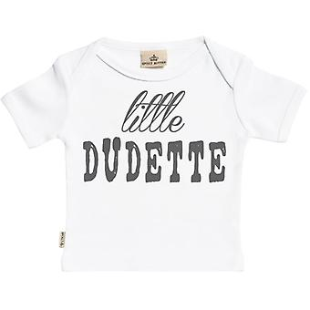 Spoilt Rotten Little Dudette Short Sleeve Baby T-Shirt