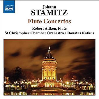 J. Stamitz - Johann Stamitz: Huilu konsertot [CD] USA tuonti
