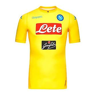 2017-2018 Napoli Kappa authentieke weg Shirt