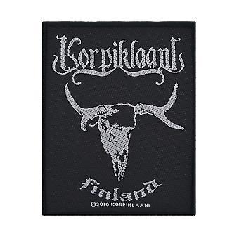 Korpiklaani Finland Woven Patch