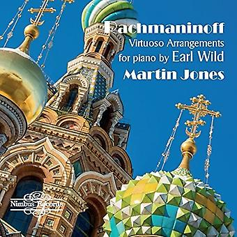Bach, J.S. / Jones - Virtuoso Arrangements for Piano by Earl Wild [CD] USA import