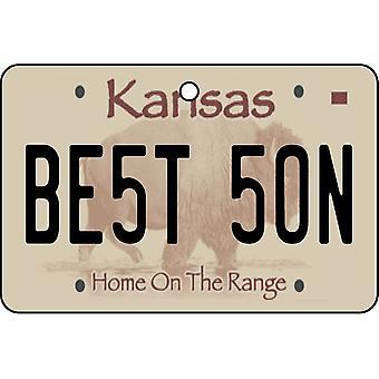 Kansas - bedste søn nummerplade bil luftfriskere