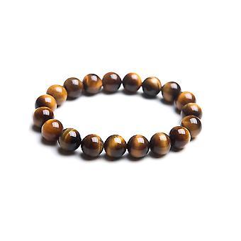 Bracelet stretch Femme ou Homme en Perles Oeil de Tigre 2937
