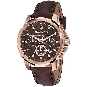 Maserati Herrenuhr Successo chronograaf R8871621004