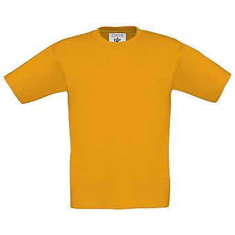 B&C Childrens Unisex Colours Short-sleeved Crew Neck Cotton T-shirt