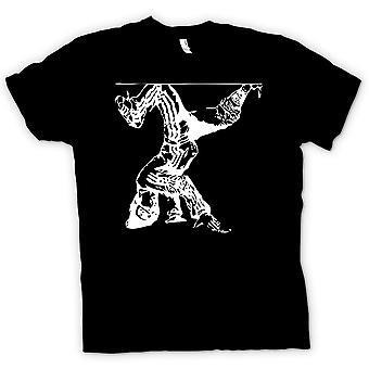 Kids t-skjorte - Breakdancing Hip Hop - BW