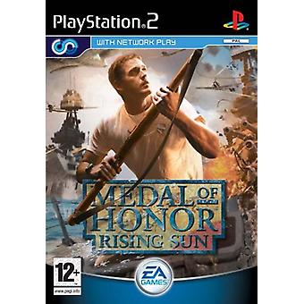 Medal of Honor Rising Sun (PS2) - Ny fabrik förseglad