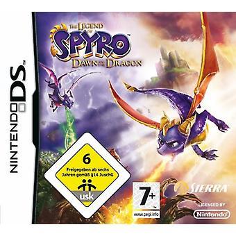 De legende van Spyro Dawn van de draak (Nintendo DS)-nieuw