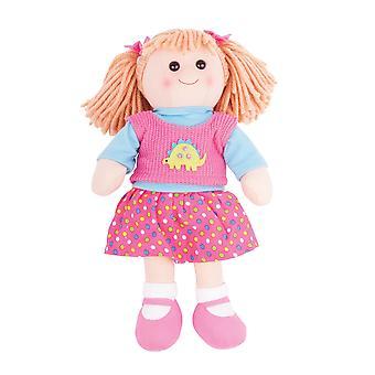 Bigjigs Toys weichen Plüsch Susie (38cm) Rag Puppe Spielzeug