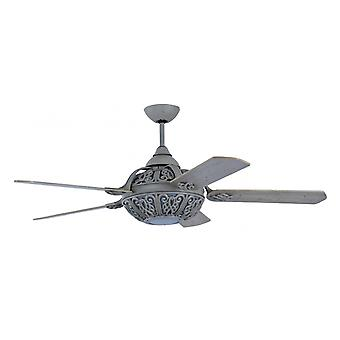 Ceiling Fan Santa Pepeo washed grey with wall control