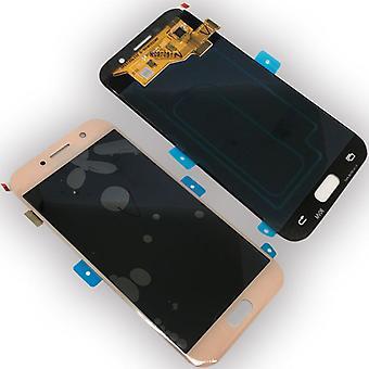 Дисплей LCD полный набор GH97 19733D Pink для Samsung Галактика A5 A520F 2017