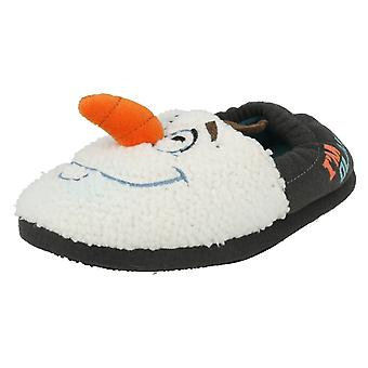 Boys Olaf Vamp Novelty Slippers Frozen A/W15 3D