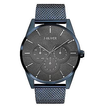 Oliver s. reloj reloj de pulsera de acero inoxidable SO-3573-MM