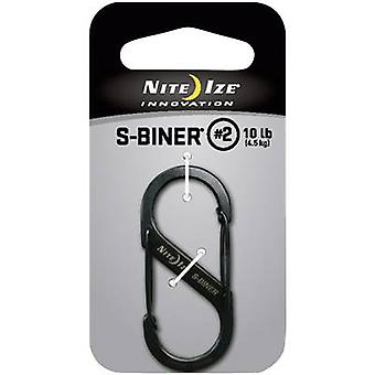 NITE Ize NI-SB2-03-01 Snap hook S-Biner Gr. 2 50 mm x 22 mm 1 pc(s)