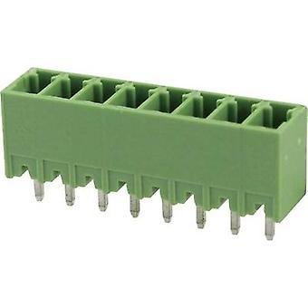 Degson Socket kotelo - PCB kokonaismäärä nastat 2 yhteystiedot välistys: 3.81 mm 15EDGVC-3,81-02P-14-00AH 1 PCs()