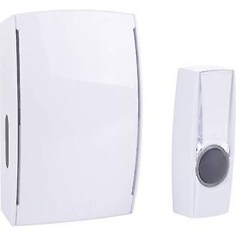 Byron BY511E Wireless door chime Complete set backlit, incl. nameplate